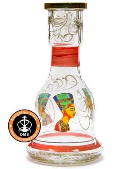 Vas (sticla) de narghilea cu profil