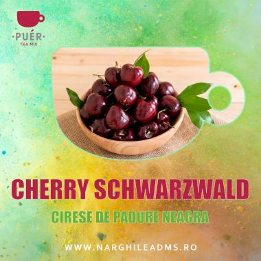 Aroma Narghilea PUER CHERRY SCHWARZWALD - CIRESE DE PADURE NEAGRA 100g