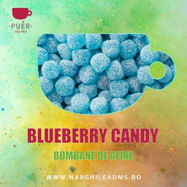 Aroma Narghilea PUER BLUEBERRY CANDY - BOMBANE DE AFINE 100g