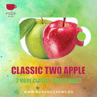 PUER CLASSIC TWO APPLE - 2 MERE 100g