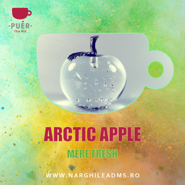 Aroma Narghilea PUER ARCTIC APPLE - MERE FRESH 100g