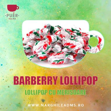 Aroma Narghilea PUER BARBERRY LOLLIPOP - LOLLIPOP CU MERISOARE 100g