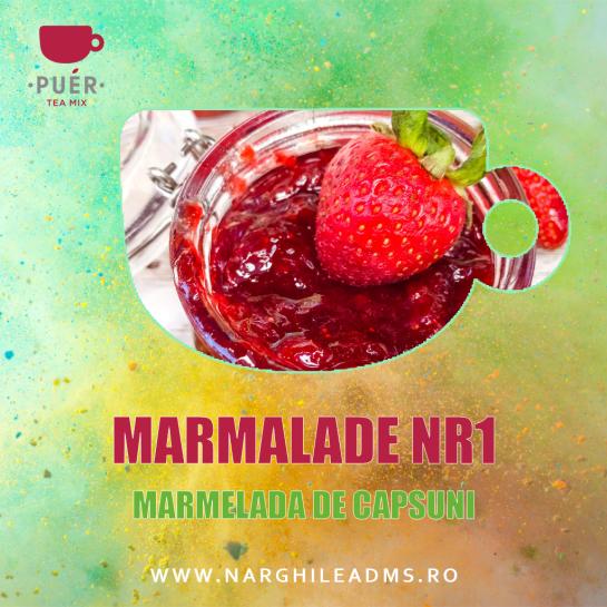 Aroma Narghilea PUER MARMALADE NR1 - MARMELADA DE CAPSUNI 100g