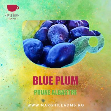 Aroma Narghilea PUER BLUE PLUM - PRUNE ALBASTRE 100g
