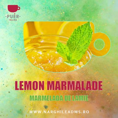 Aroma Narghilea PUER LEMON MARMALADE - MARMELADA DE LAMIE 100g