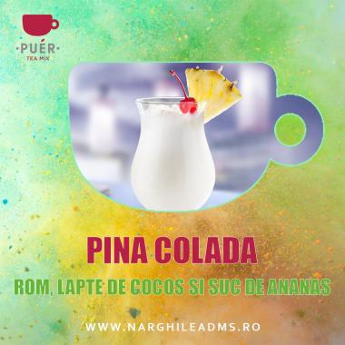 AROMA NARGHILEA PUER PINA COLADA - ROM, LAPTE DE COCOS SI SUC DE ANANAS 100g