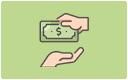 Acceptăm plăți în numerar în magazinele noastre