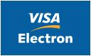 Acceptăm plata cu cardurile Visa Electron