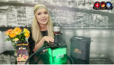 Prezentarea si testarea noua narghilea COCO BOSS SMOKE LADY in forma de cub!