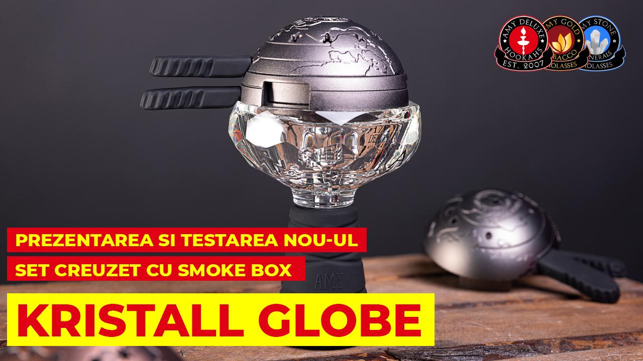 Prezentarea si testarea nou-ul Set Creuzet KRISTALL GLOBE cu Smoke Box